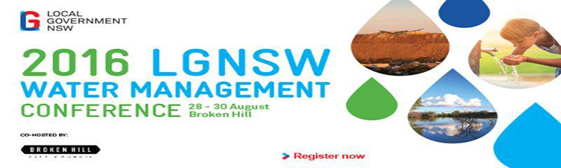 Local Government NSW Water Management Conference 2016