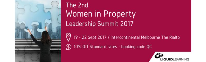 The 2nd Women in Property Leadership Summit 2017